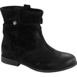 Birkenstock Women Sarnia Ankl Boot Leather Suede